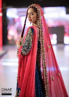 Designer: Mohsin Naveed Ranjha, Model: Rubya Chaudry Islamabad Fashion Week 2013