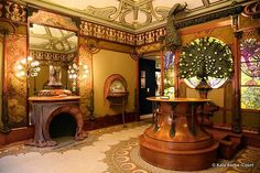 Fouquet Jewelry store in Paris by Alphons Mucha