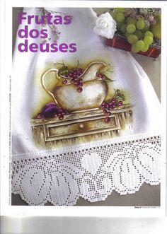 Coleção Susy - Pintura em Tecido e Crochê - A1 N9 - Rosana Mello - Álbuns da web do Picasa