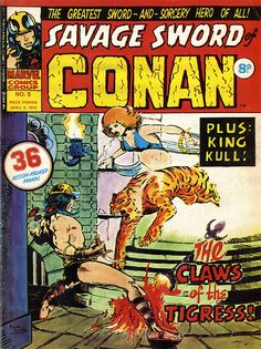 Savage Sword of Conan #5