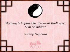 We adore Audrey Hepburn