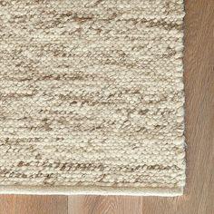 Option B - Sweater Wool Rug - Oatmeal | west elm