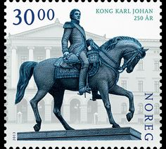 King Karl III Johan 250th Anniversary was issued in 2013 by the Norwegian Post. #stamps #norway http://www.wopa-stamps.com/index.php?controller=country&action=stampRelatedIssue&id=10782