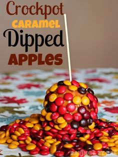Fall Recipes Hot Apple Cider and Caramel Apples - Two recipes, but only one picture here.  See recipes for all the beautiful other pictures! And they're easy, too!!