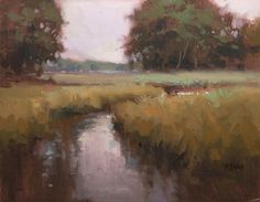 The Wetlands by Richard McKinley Oil ~ 11 x 14