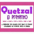QUETZAL is a game that your students will ask for by name! It is modeled after the game Qwirkle, but Quetzal uses Spanish verbs and special tense e...