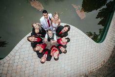 Moscow Castle Wedding: Matt Shumate photography at Meadowinds matt shumate patented camera toss photo wedding party water