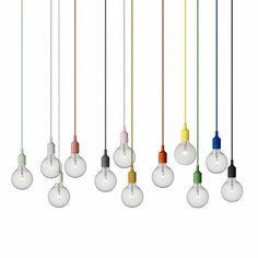 Design lamp van Form us with love met rubber snoer en fitting Interior Decorating, Interior Design, Pendant Lamp, Lamp Light, Interior Architecture, Chandelier, House Design, Lights, Inspiration