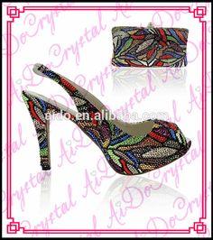 69ad3cf1da507 Aidocrystal peep toe slingbacks sandals platform shoes wholesale high heels  for woman