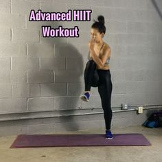 """11.2k Likes, 239 Comments - Carmen Morgan (@mytrainercarmen) on Instagram: """"Advanced HIIT Workout - Get ready 20 Sec ea Move, 20 Sec rest in btwn ea Move. - - 3 Sets or…"""""""