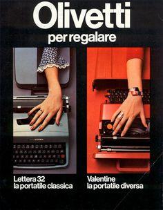 Olivetti Lettera 32 e Valentine