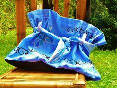 taška modrá