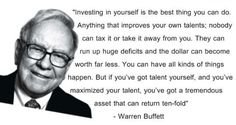 Enjoy the best Warren Buffett Quotes. Quotes by Warren Buffett, the most successful investor of the century. Find Quotes, Wisdom Quotes, Best Quotes, Famous Quotes, Qoutes, Warren Buffett, Warren Buffet Quotes, Effort, Trade Finance