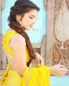 28 Best Lehenga Hairstyles Images Gagra Choli Ghagra Choli