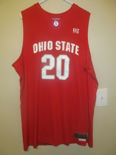 f029d227d Ohio State Buckeyes Authentic Basketball jersey - NIKE Elite Adult 2XL  Nike   OhioStateBuckeyes