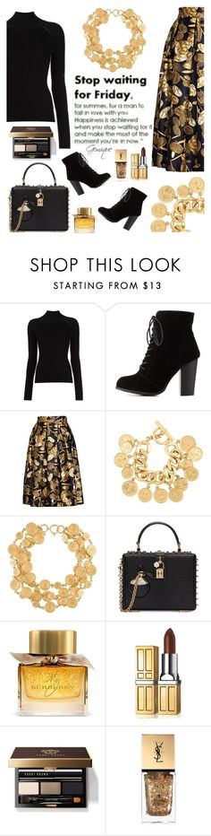 """""""Stop Waiting"""" by gemique ❤ liked on Polyvore featuring Misha Nonoo, Charlotte Russe, Chanel, Dolce&Gabbana, Burberry, Elizabeth Arden, Bobbi Brown Cosmetics and Yves Saint Laurent"""