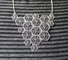 Quadra Necklace by Ridley and Dowse