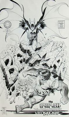 Diversions of the Groovy Kind: Black and White Wednesday: Arthur Adams Covers the...