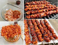 Best BBQ Chicken Kebabs