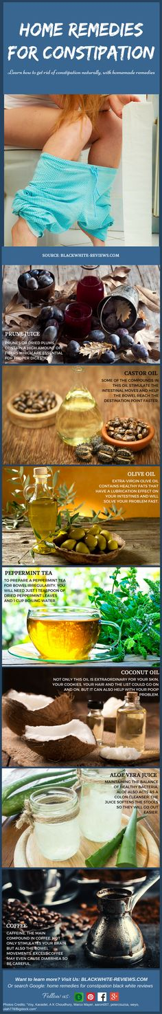 Constipation remedies that work fast and bring a natural relief. Learn how to…