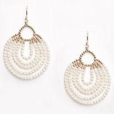 Patterns For Seed Bead Earrings - Yahoo Image Search Results Bead Jewellery, Seed Bead Jewelry, Seed Bead Earrings, Chandelier Earrings, Beaded Earrings, Beaded Jewelry, Jewelery, Hoop Earrings, Beaded Chandelier