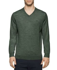 Calvin Klein  V-Neck Merino Sweater