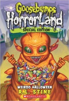 Take a little Horror home with you! An extra-long, extra-scary Halloween Special Edition: a HorrorLand first!Chris and his twin, Meg, have a problem. It started the night before Halloween when the twi