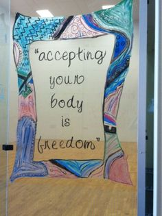 Accepting your body is freedom #BodyImage #selfesteem #acceptance