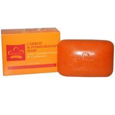 Nubian Heritage, Carrot & Pomegranate Soap, 5 oz (141 g)