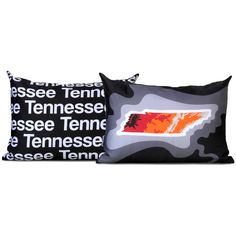 Tennessee Pillow - Charcoal