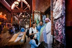 Family Local Flair souq experiences with Mövenpick Hotel Deira