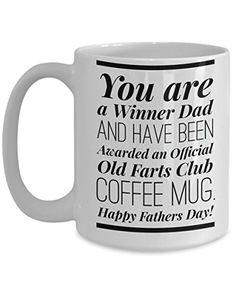 Old Fart Funny Coffee Mug for Men-Happy Father Day Gift $... https://www.amazon.com/dp/B072J891XH/ref=cm_sw_r_pi_dp_x_H7ujzbTH5RWTX