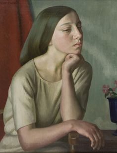 Dod Procter RA (1890-1972) Lilian, 1923 Jerwood Collection © The Procter estate / Bridgeman Images.
