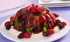 A sobremesa fica colorida e saborosa. (Foto: Divulgação)                                                                                                                                                                                 Mais