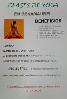 Conoce los beneficios de el yoga