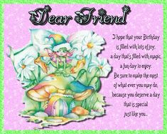 A sweet card of birthday wishes for a special friend. Free online Birthday Wishes For A Special Friend ecards on Birthday Happy Birthday Penguin, Happy Birthday Best Friend, Cute Happy Birthday, Birthday Wishes Funny, Birthday Songs, Fairy Birthday, Happy Birthday Quotes, Birthday Ideas, Birthday Sparklers