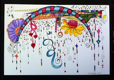 Tangled Ink Art: Zenspirations Dangle