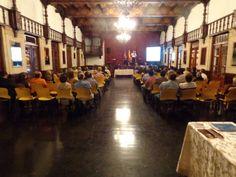 Over 75 people attended the CITY OF SORROWS book presentation at La Casa de Espana in Old San Juan