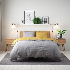 Mercury Row This pillow case will be a real visual highlight in your bedroom. Size: W x L, Colour: Taupe/Light beige Blue Headboard, Headboard Decor, Simple Bedroom Decor, Room Ideas Bedroom, Bedroom Size, Minimalist Bedroom Small, Minimalist Home, Farmhouse Master Bedroom, Aesthetic Room Decor