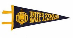 Image result for united states naval academy pennant