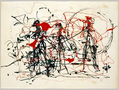 Jackson Pollock: Untitled (1982.147.27) | Heilbrunn Timeline of Art History | The Metropolitan Museum of Art