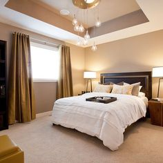 Tray Ceiling Design, Pictures, Remodel, Decor and Ideas                                                                                                                                                                                 More