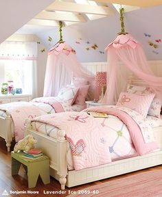 pottery barn kids. Hmmm...maybe the girls will have something like this when baby #3 gets here...