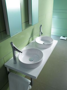 Available From UK Bathrooms:   Bathroom Design Series: Starck 2    Washbasins, Toilets, Bidets And Urinals From Duravit.