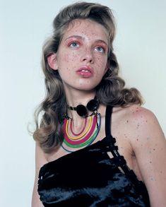 Novembre Magazine July 2014, photo by Nicolas Coulomb, style by Georgia Pendlebury, make up - Isamaya Ffrench