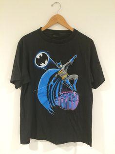 80's Vintage Batman Tee  1988 DC Comics Tshirt by RetroRevivalClub https://www.etsy.com/shop/RetroRevivalClub