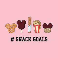 Wallpaper Iphone Disney - Snack Goals - Light - Disney - T-Shirt Disney Cute, Dark Disney, Disney Magic, Disney Snacks, Disney Food, Wallpaper Iphone Disney, Cute Disney Wallpaper, Disney T Shirt, Comida Disney
