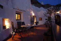"Gite en Andalousie ""Cueva Amandier""   Airbnb Mobile"