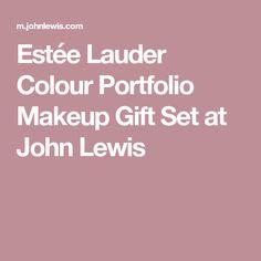 Estée Lauder Colour Portfolio Makeup Gift Set at John Lewis