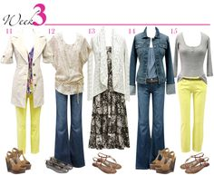 A Month of Style With Just 15 Fabulous Fashions…